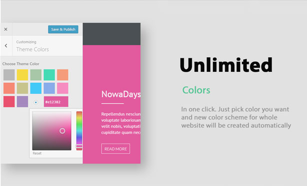 NowaDays - Multipurpose One/Multipage WordPress Theme - 11