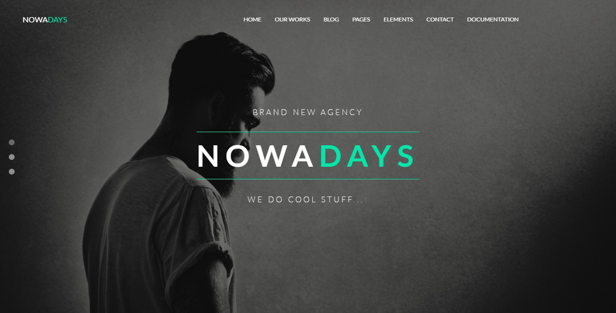 NowaDays - HTML5 One/Multi Page Multipurpose Creative Agency ...